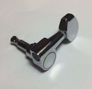 Single Chrome 1-Post Tuner from a Gibson Guitar, Bass Side (EAD)