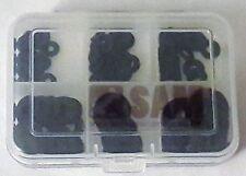 150 pièces rondelles Assortiment DIN 433 Acier Inoxydable a2 Noir m2-m6