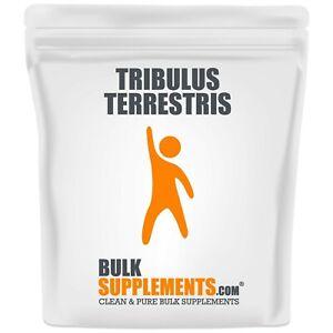 BulkSupplements.com Tribulus Terrestris 500mg Powder and Capsules