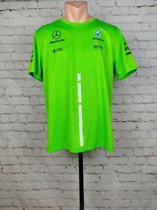 Shirt Formula Mercedes Petronas F1 Hugo Boss TEAM Sport AMG Green Mens Schenker