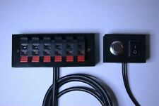 Neptune Apex Breakout Box w/ Push Terminals custom 2 switch panel choose from 3