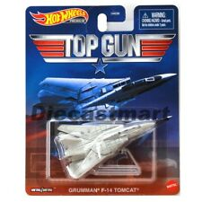 Hot Wheels Top Gun Grumman F14 Tomcat Movie Premium Diecast Mattel Dmc55