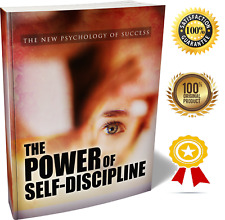 The Power of Self-Discipline - Ebook Pdf With Resell Rights