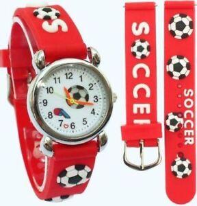 Children's, Kids, Boys Liverpool, 3D Football, Soccer Design, Sports Watch
