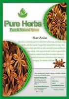 Pure herbs Étoile Anis Entier (Chakri Phool ) Pour Indien Cuisine