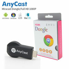 Anycast WiFi Display Receiver AV Dongle DLNA Airplay Miracast HDMI for LED TVs