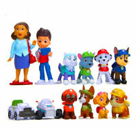12pcs Set Paw Patrol Rescue Dog Action Figure Model Toys Anime Child kids Gift