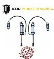 ICON OMEGA Series Bypass RR Front S2 Secondary Shocks fits 05-15 Toyota Tacoma
