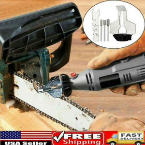Chainsaw Sharpener Electric Grinder Chain Saw Grinder File Tool Attachment