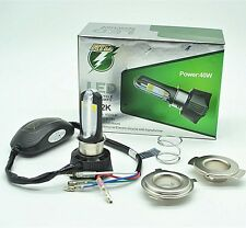 led motorcycle headlight, Universal Fit, H7,H1,H4
