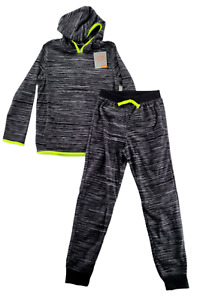 Jumping Beans Boy's Size 10 Active Microfleece Hoodie & Jogger Pants Set