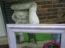lovely lavender shabby chic mirror