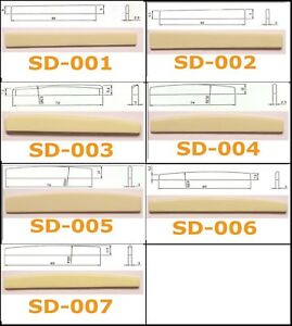 Guitar Saddle Bridge for Acoustic, Classical and Folk full range