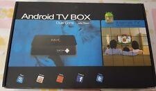 ANDROID BOX INTERNET SMART TV MX STREAMING in omaggio tastiera con mause bluetoo