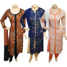Pakistani Indian Printed Rayon Suit Dress Casual Stitched Salwar Kameez Shalwar