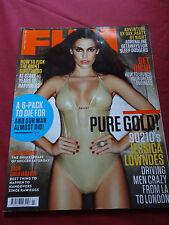 FHM Magazine July 2011 Jessica Lowndes, Zach Galifianakis, Amelia Racine, Elbow
