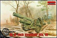 Roden 813 - 1/35 - British BL 8-Inch Howitzer Mk.VI WWI plastic model kit