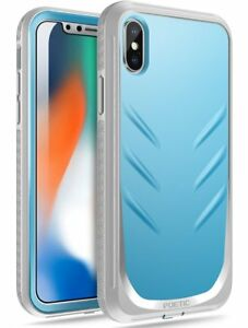 Revolution 360 Degree Protection Shock Absorbing Apple iPhone XS/X Case Blue
