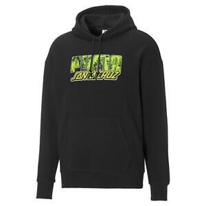 Puma x Santa Cruz Hoodie Men's Black Sportswear Sweatshirt Casual Hoody Top
