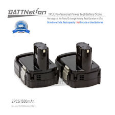 2x 1.5AH 1500mAh 18V Li-Ion Battery for HITACHI 18-Volt PowerTool Cordless Drill