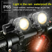 Rechargeable XM-L T6 LED MTB Bike Bicycle Led Light Front Headlight w/USB Cable