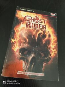 Ghost Rider The Road To Damnation Graphic Novel (10% to Fire services charity)