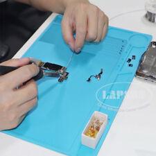 Heat Insulation Silicone Pad BGA Soldering Repair Station Microscope Platform AU