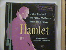 HAMET GIELGUD MCGUIRE BROWN THATRE GUILD 2 LP BOX SET 70 PAGE BOOKLET NM VINYL