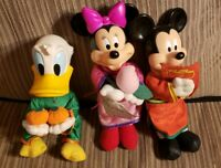 "McDonald's Disney 12"" Mickey Mouse Chinese New Year Plush Lot of 3 Singapore"