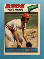 1977 Topps Baseball Card #450 N.L All Star Pete Rose Cincinnati Reds   HOF