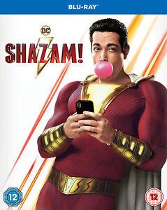 Shazam! (Blu-Ray) Zachary Levi, Mark Strong, Asher Angel, Jack Dylan Grazer