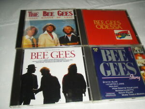 CD musique lot de 4 BEE GEES  Odessa-story-the very best of the  occasion