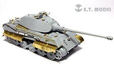 ET Model E72020 1/72 King Tiger Porsche Turret Detail Up Set for Dragon 7254
