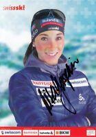 Aita Gasparin (SUI) Biathlon Schweiz original signiert/signed !!!