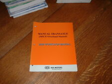 MANUALE ORIGINALE KIA M5GF2 Transaxle Workshop Manuale. 2006