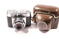 ZEISS IKON CONTESSA LKE 35mm FILM CAMERA + CASE F3179