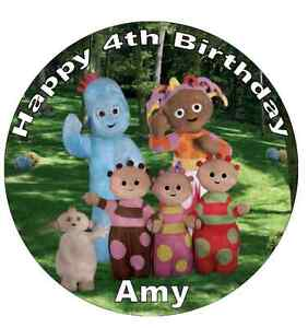 """In The Night Garden Personalised Cake Topper Edible Wafer Paper 7.5"""""""