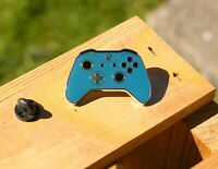 XBox Controller Ocean Waves Deep Blue Turquoise Metal & Enamel Pin Pinback