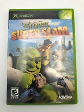 Shrek SuperSlam (Microsoft Xbox, 2005) w/ Manual