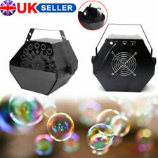 More details for 60w electric bubble blower machine maker dj disco club children party wedding