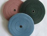 Bunting Tape 10mm Antique Cotton - Green / Blue / Mauve - Choose your length.