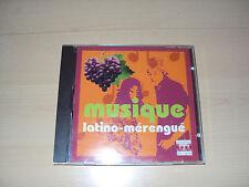 CD  MUSIQUE LATINO-MERENGUE