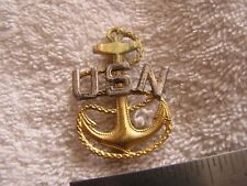 US Navy  USN Sterling Pin Anchor