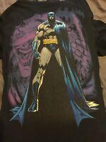 DC Originals Batman & Joker 2 in 1 Black Short Sleeve T-Shirt Size Large
