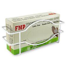 Single Wall Mount Glove Tissue Dispenser, Wire Rack Disposable Gloves Napkin Box