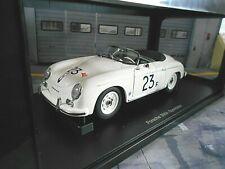 PORSCHE 356 Speedster J Dean #23 F weiss white 77865 AUTOart Sonderpreis 1:18