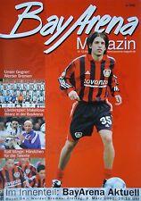 Programm 2000/01 Bayer 04 Leverkusen - Werder Bremen