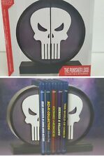 Gentle Giant x Marvel The Punisher Logo Collectible  Bookends Limited Edition