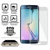 Full Cover Tempered Glass Screen Protector For Samsung Galaxy S6 Edge Plus Clear