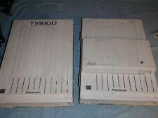 Panasonic KXT816 (8x8) & 2 port TVS100 voicemail w/AC cords used